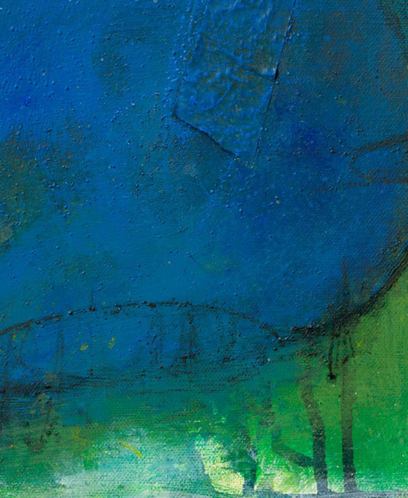 abstrakte malerei auf leinwand von sabine mannheims, kuenstlerin aus nuernberg
